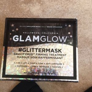 Nib glam glow glitter mask